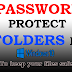 How to password protect a folder in Windows 10