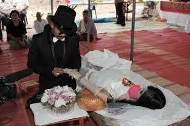 chadil deffy menikah dengan mayat kekasihnya di thailand