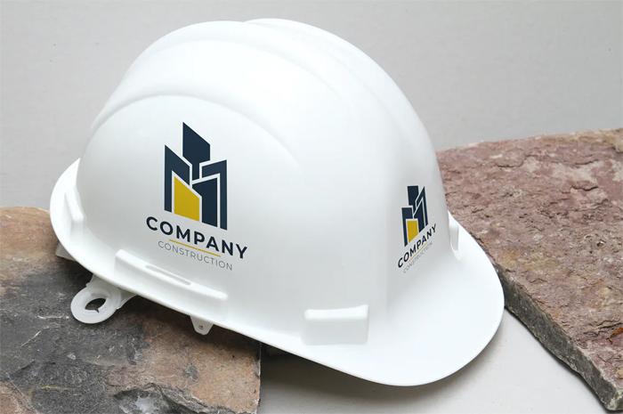 Free Dowlnoad Construction Helmet Mockup