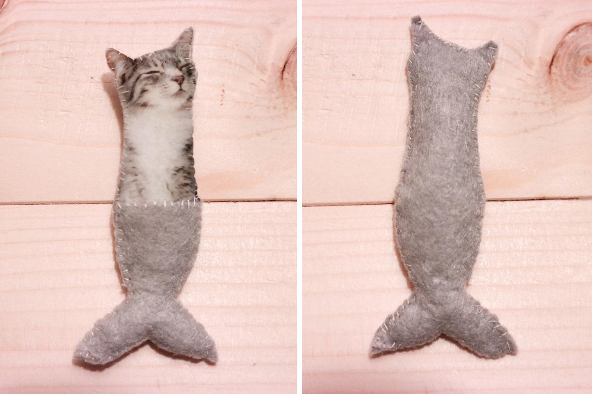Meerjungfrau-Katze selber machen 6