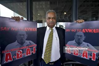 Selepas dipecat, Ganapathy terus serang Anwar tak layak jadi PM