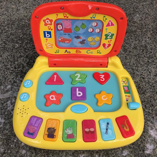 Peppa Pig electronic learning toys, Chez Maximka