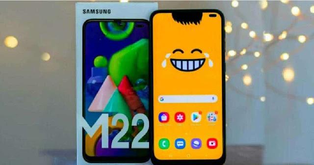تسريب المواصفات الكاملة وسعر هاتف سامسونج القادم  Galaxy M22