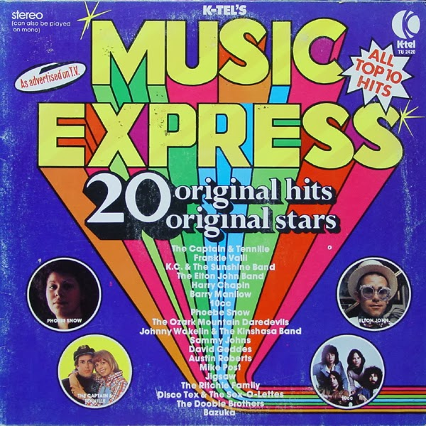 K-Tel Kollection 1973-1983: MUSIC EXPRESS [1975]