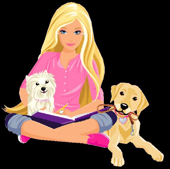 BAÚ DA WEB : Imagens Da Barbie Em Png