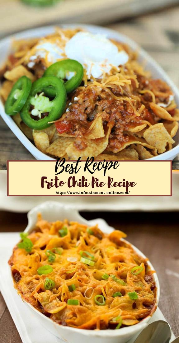 Frito Chili Pie Recipe #dinnerrecipe #food #amazingrecipe #easyrecipe