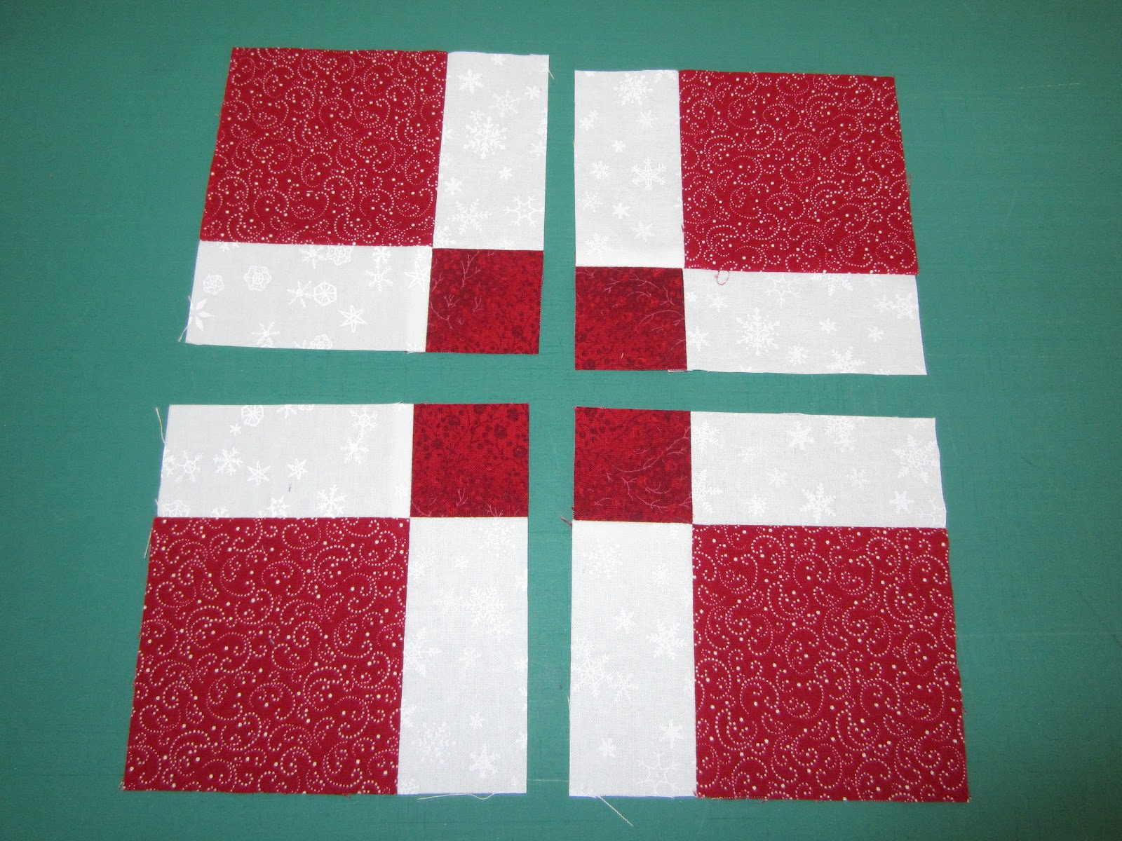 how to cut a nine patch for disappearing nine patch