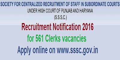 High Court of Punjab & Haryana Recruitment 2016