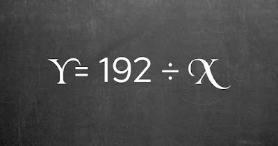 Figure: If y equals 32, then what is x in this equation?