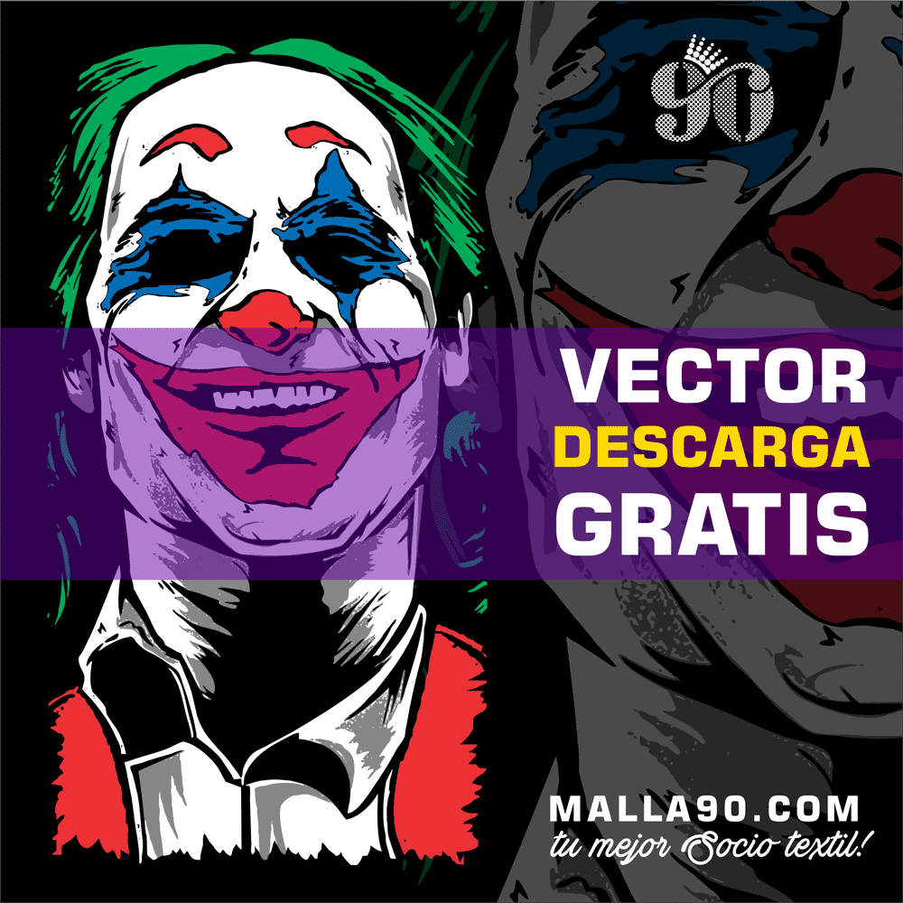 descarga vector del joker phoenix