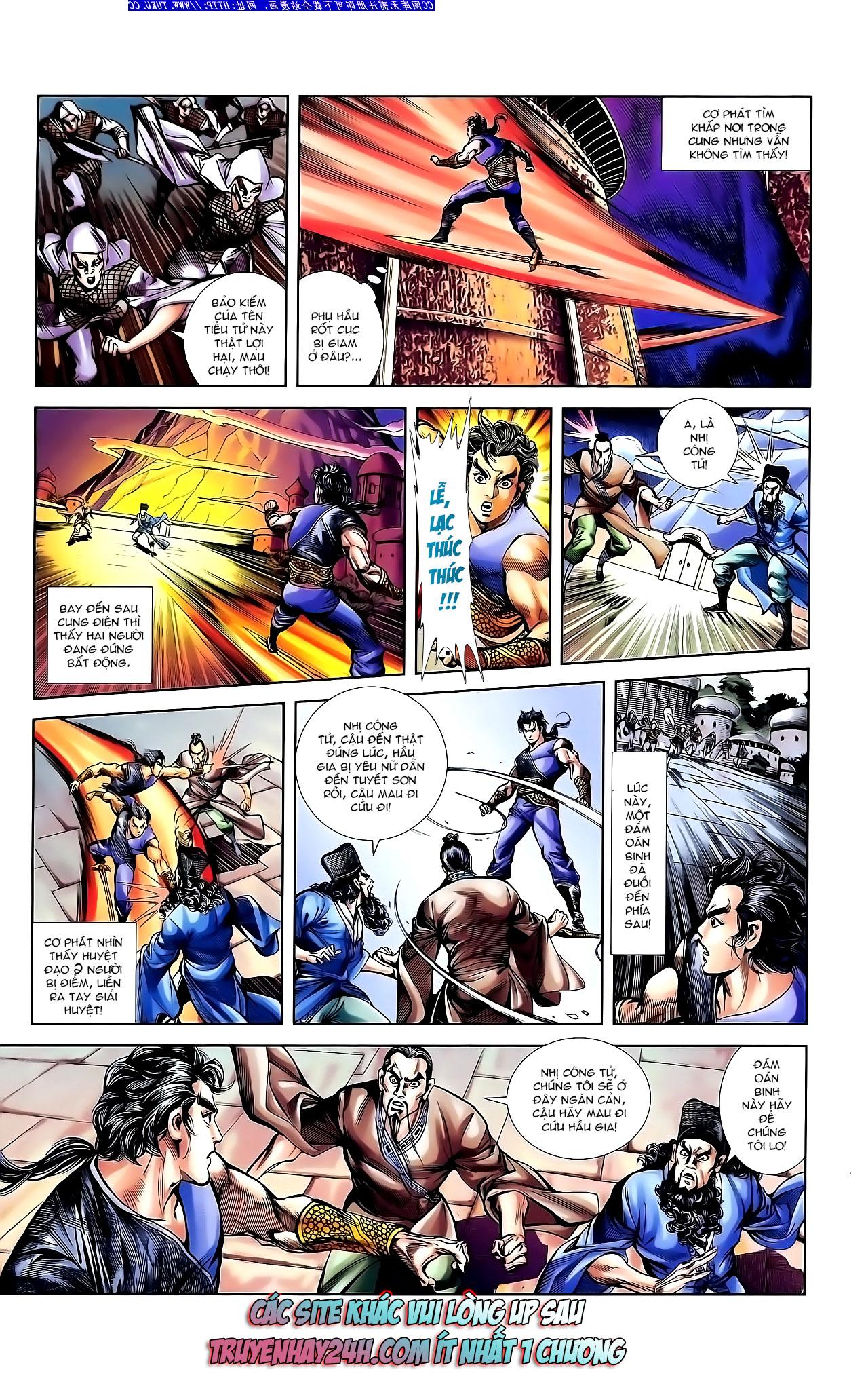 Cơ Phát Khai Chu Bản chapter 142 trang 31