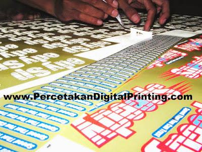 Contoh Contoh Desain CUTTING STICKER Dari Percetakan Digital Printing Terdekat