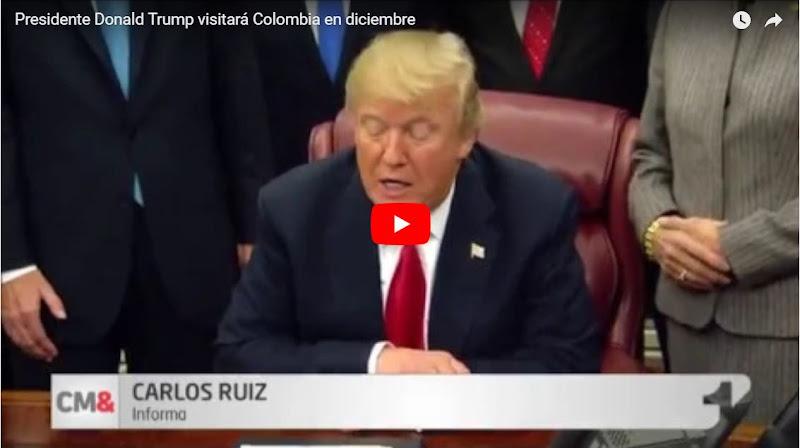 Maduro furioso : Duque recibirá con los brazos abiertos a Donald Trump en Colombia en Noviembre
