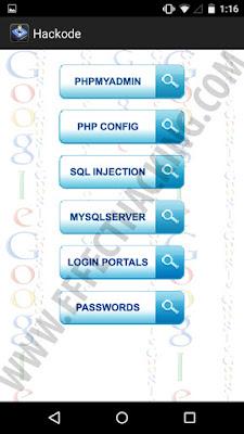 Hackode Google Hacking Queries