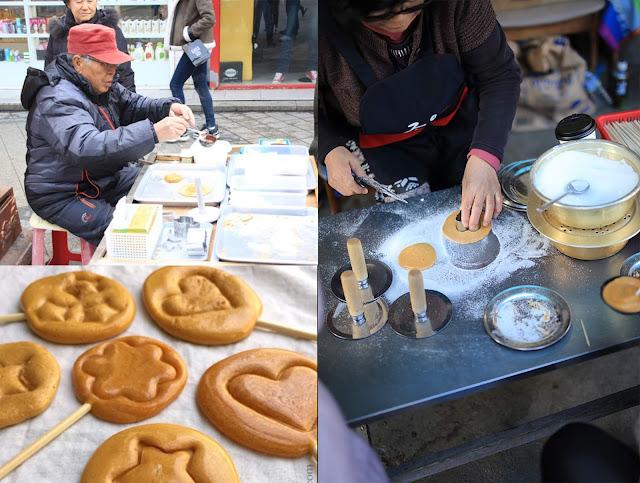 Korean Street Food - Dalgona Candy