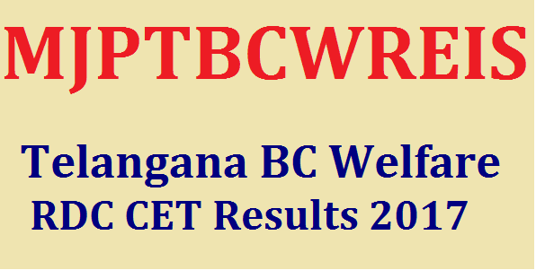 Results, Latest, MJPBCWRDC CET, MJPTBCWREI Society Schools, TG State, TS Results