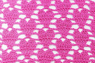 1 - Crochet IMAGEN Punto de corazón a crochet y ganchillo. MAJOVEL CROCHET