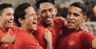 Indonesia win 6-0 against Vanuatu on international friendly match in Gelora Bung Karno