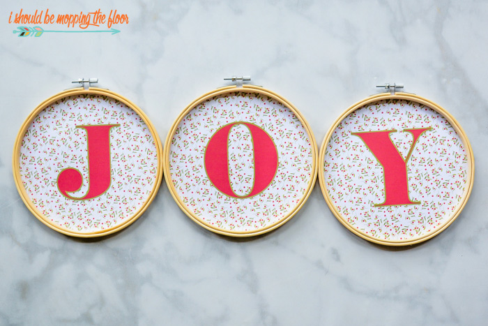 JOY Hoop Printables