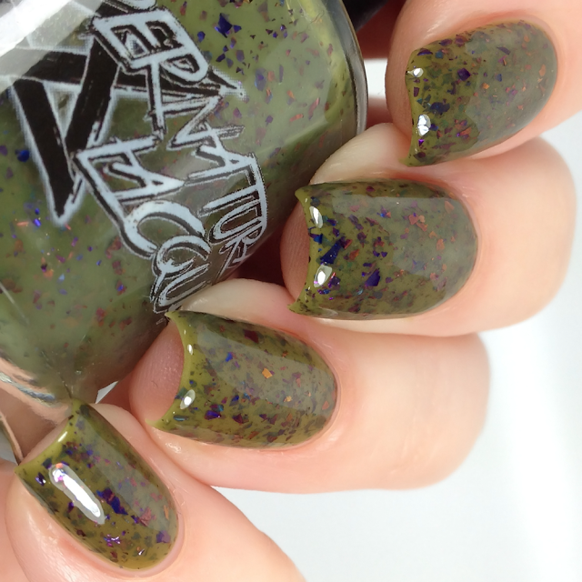 Supernatural Lacquer-Olive a Sudden