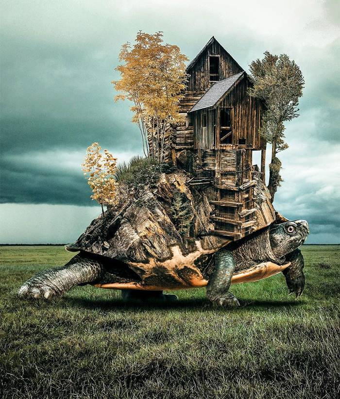 Fabulous Images That Will Inspire Every Lover of Surrealism | Welcome to the world created by the artist Hussein Sahin