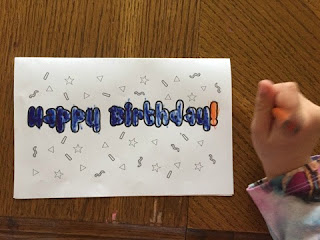 happy birthday colorable cards
