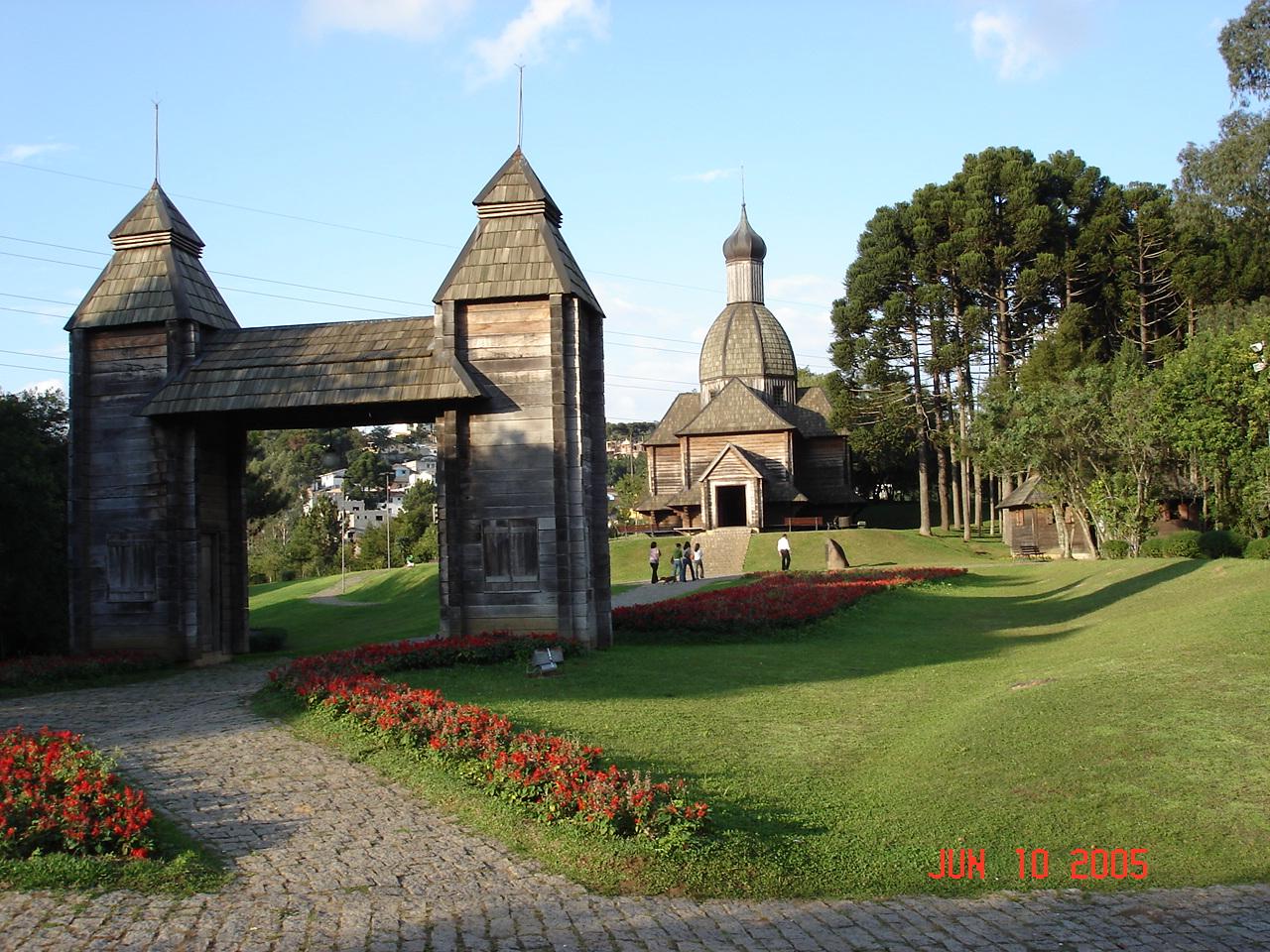 Memorial Ucraniano - Curitiba