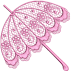 Parasol Free Embroidery Design #1112