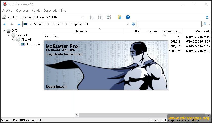 IsoBuster Pro Full Español