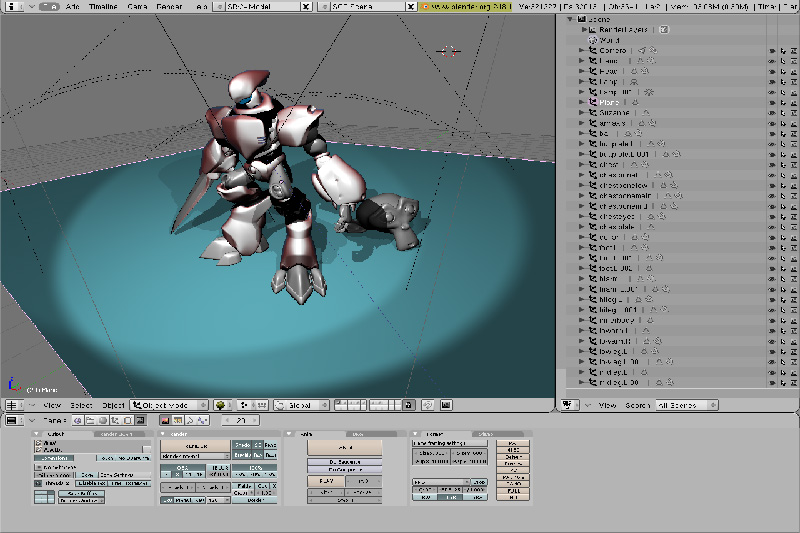 Blender User Interface
