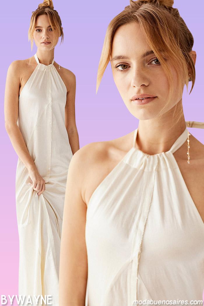 vestidos largo verano 2021