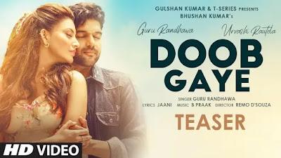 Doob Gaye Lyrics Guru Randhawa in Hindi and English