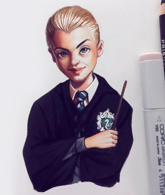 Artista Rusa retrata celebridades con un estilo de dibujo animado y el resultado es adorable