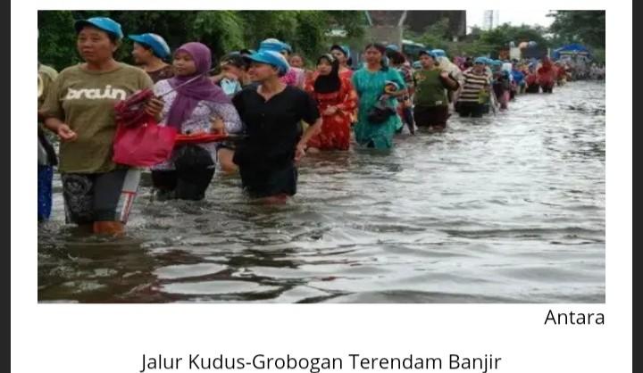 Media Bungkam Tutupi Dampak Banjir Jateng, Karena Gubernurnya PDIP?