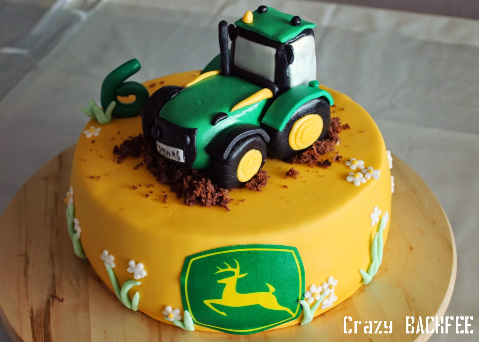 Bettwäsche Kinder Riegel Crazy Backnoé John Deere Torte
