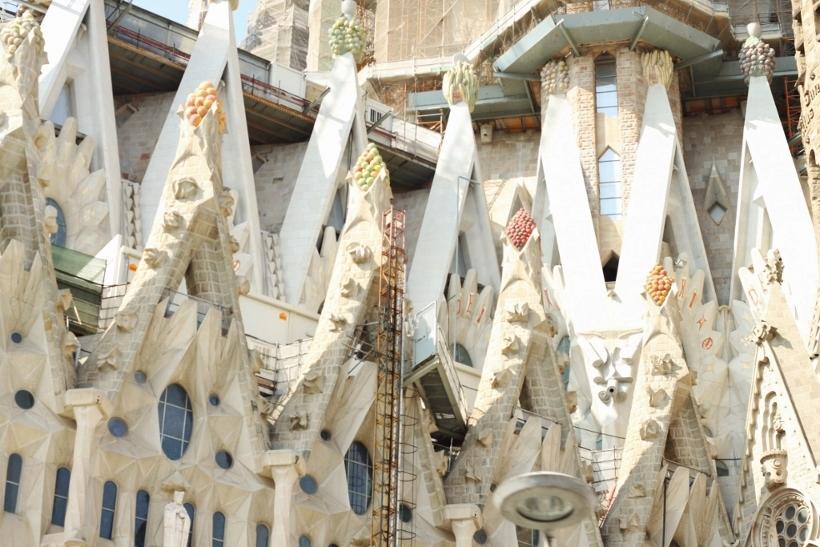 Sagrada Familia Barcelona Outside