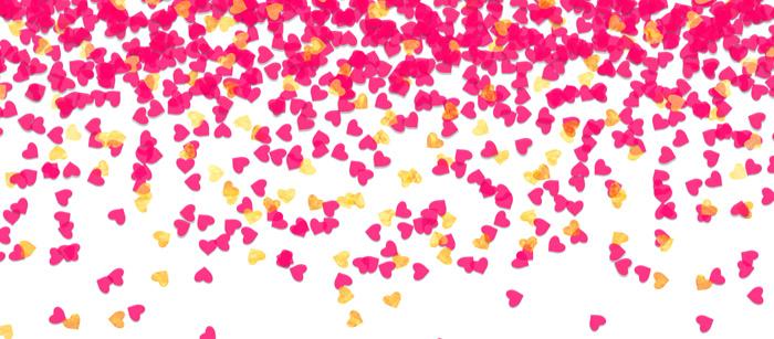 Confetti Facebook Cover