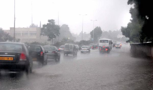 تحذير من أمطار رعدية  في هذه الولايات
