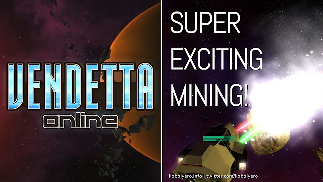 Mining Mission ARE Super Exciting! 🚀 VENDETTA ONLINE Gameplay PC 2020 ☄