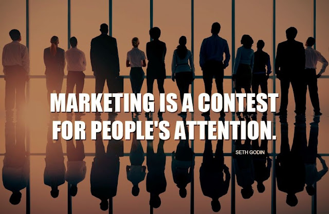 People's Attention - 8 Content Marketing Tips for Beginners
