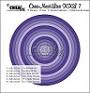 Set van 12 stansen om gladde cirkels te maken. Set of 12 dies to make smooth circles.