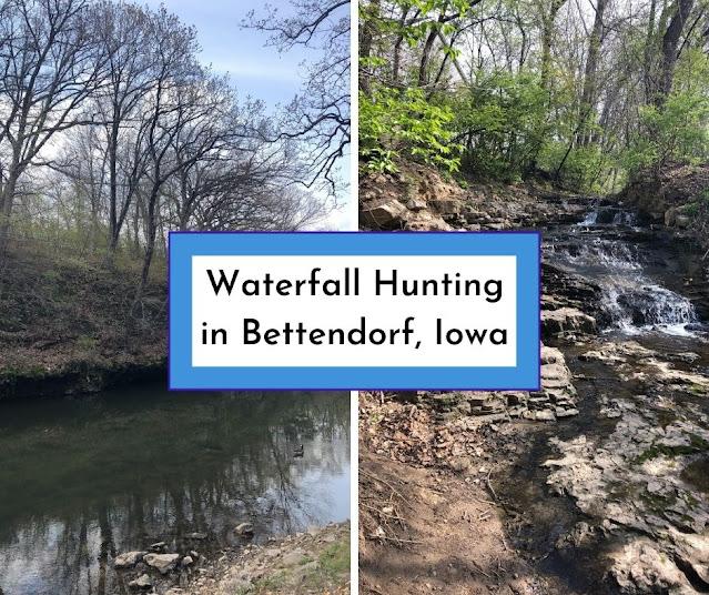 Meandering Along Duck Creek Waterfall Hunting at Devils Glen Park in Bettendorf, Iowa