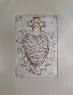 nontoxic printmaking hard ground etching