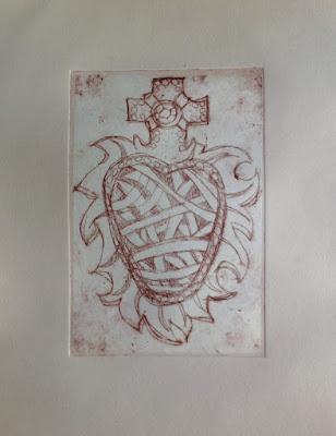 nontoxic printmaking hard ground etching