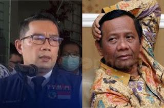 Pengamat Politik: Pernyataan Ridwan Kamil kepada Mahfud MD Bikin Terang Soal Keadilan