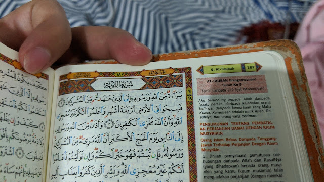 Kenapa Surah At-Taubah Tiada Lafaz Bismallah Pada Permulaan Ayat?