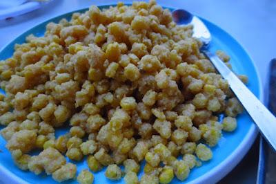 Dong Bei Xiao Chu (东北小厨), salted egg yolk corn