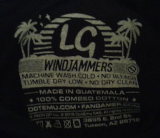 Ma commande Fangamers : Windjammers Battle Sports Hooded Pullover 6