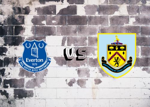 Everton vs Burnley  Resumen