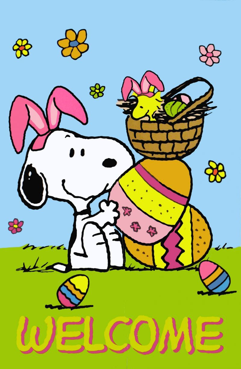 Frohe Ostern Snoopy